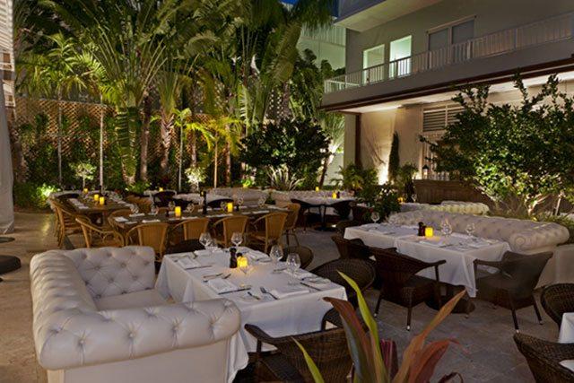 Villa Restaurant On Cote D Azur Pink