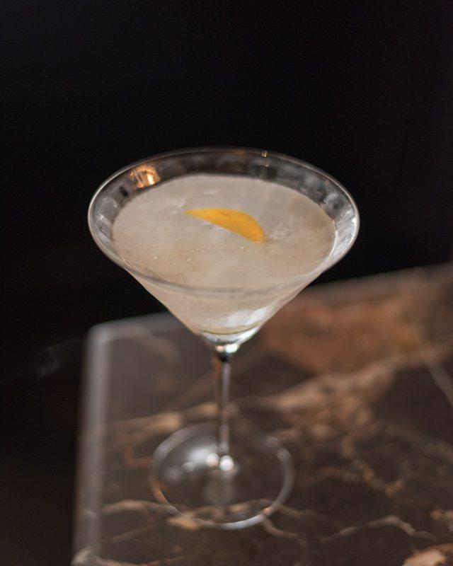 Absolut Elyx Vodka Martini at Del Posto National Martini Day