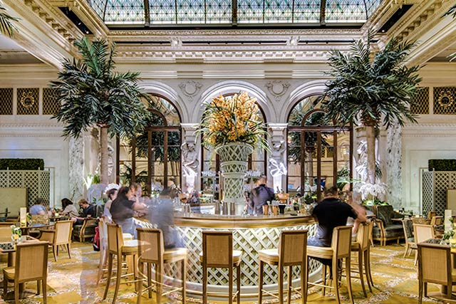 Go Pink at The Palm Court inside the Plaza Hotel