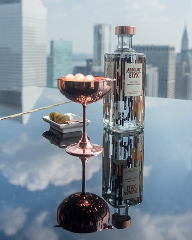 Absolut Elyx at Four Seasons - National Martini Day