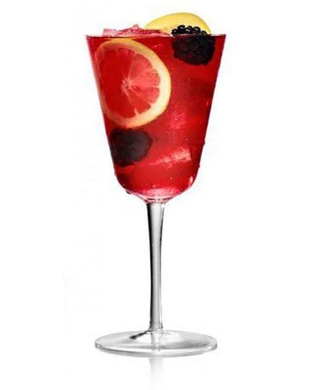 Red Berry Sangria at Katana Sunset Strip