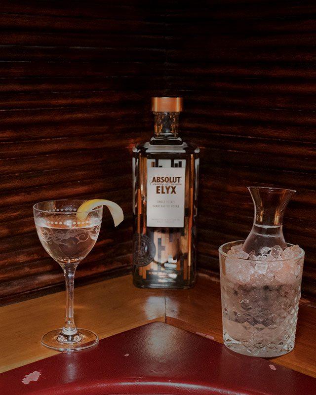 The Vesper Martini at Slowly Shirley