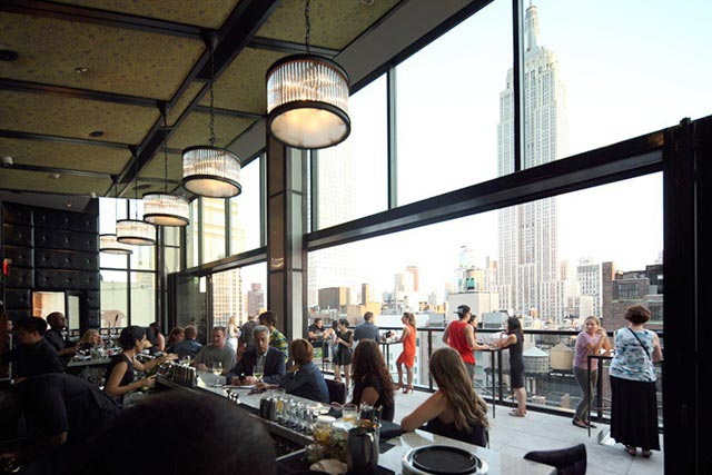 Spyglass Rooftop Bar Midtown Archer Hotel