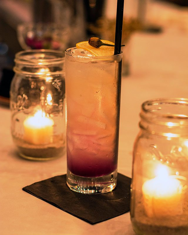 Star Island Ice Tea Cocktail at the Cape