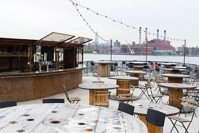 The Brooklyn Barge in Greenpoint Brooklyn