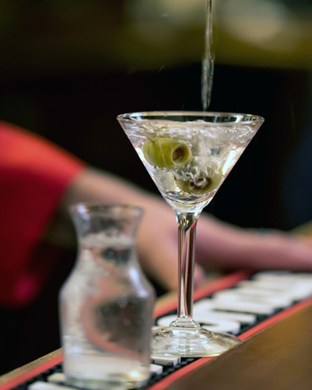 The Classic Martini at Musso & Frank's Hollywood