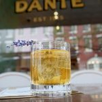 The Lavender Negroni at Dante