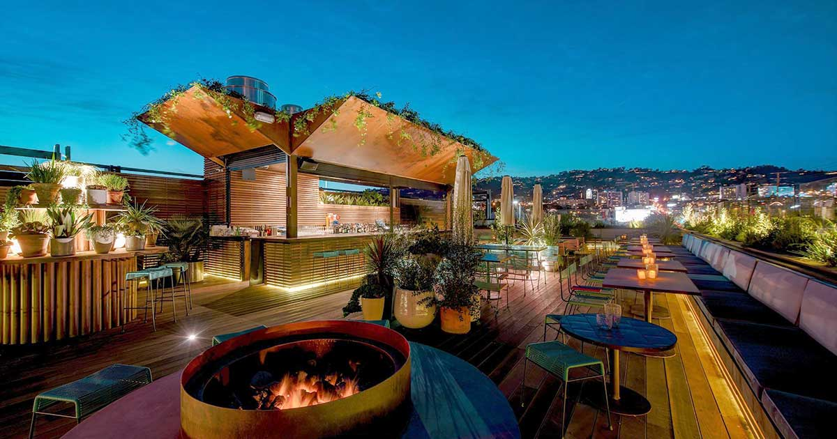 The 7 Best Rooftop Bars In Los Angeles To Check Out Now