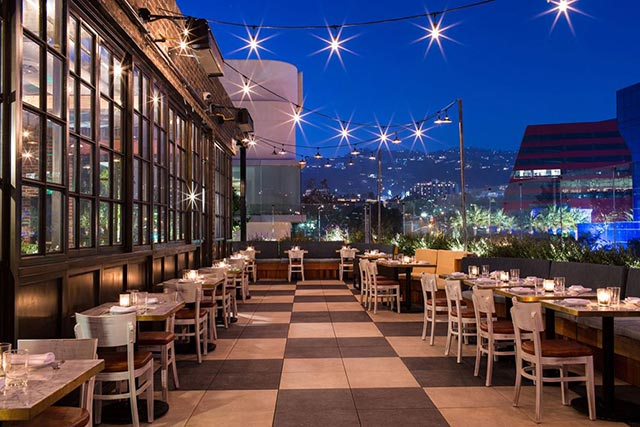 Catch LA Terrace Rooftop Bar Los Angeles