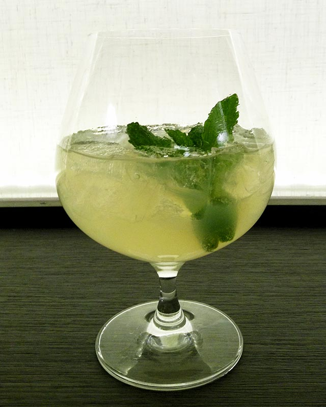 Green Gremlin at Gin + Collins at AC Hotel Miami Beach