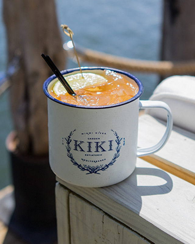 Kiki Mule at Kiki on the River Miami