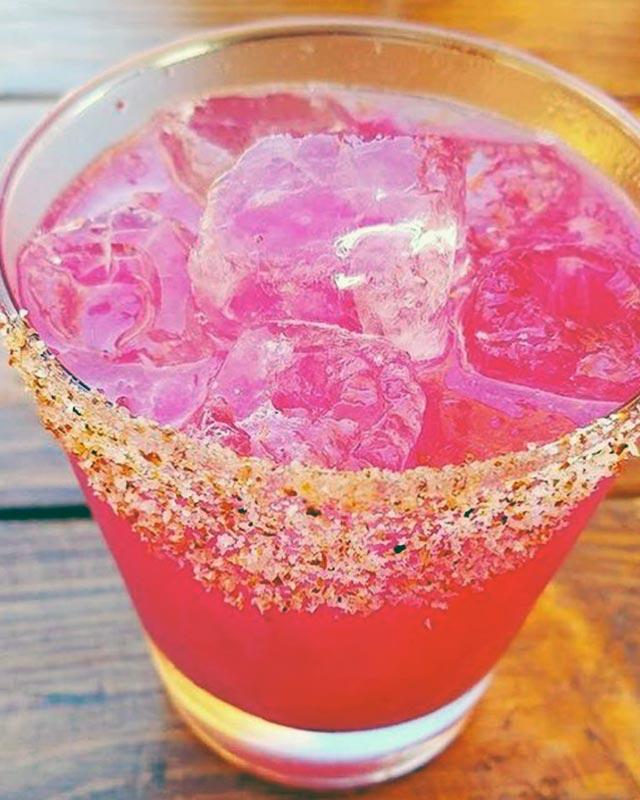 Mateo Street Pricky Pear Margarita at Everson Royce Bar