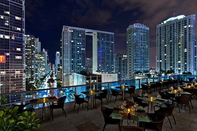 Terrace Bar Miami rooftop