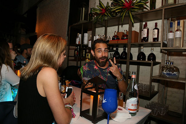 Neon Tide Bacardí Portfolio Party VIP Lounge - Tales of the Cocktail 2017