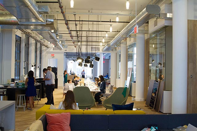 Rise Co-Working Spaces with Cocktails New York City