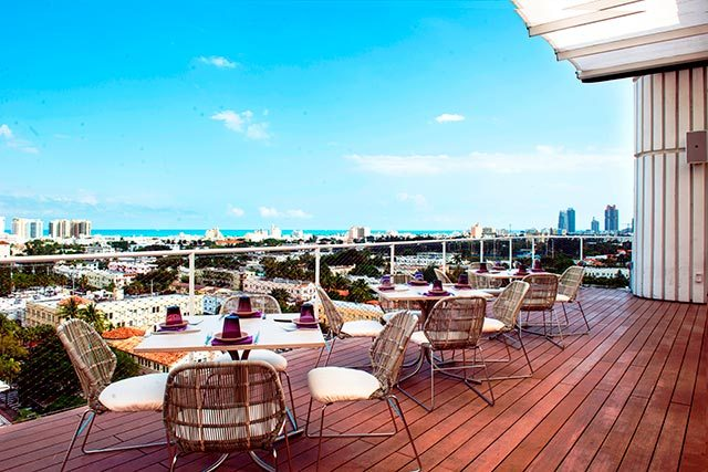 head to these 7 miami rooftop bars for cocktails with a view. Black Bedroom Furniture Sets. Home Design Ideas