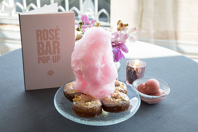 Rosé Bar Pop Up at the Gallery at Rainbow Room