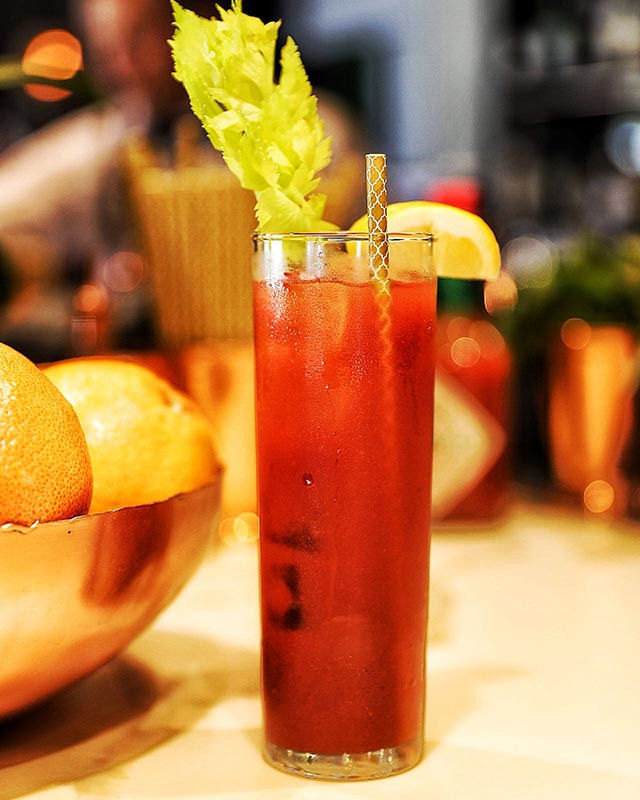Venetian Bloody Mary at Zucca