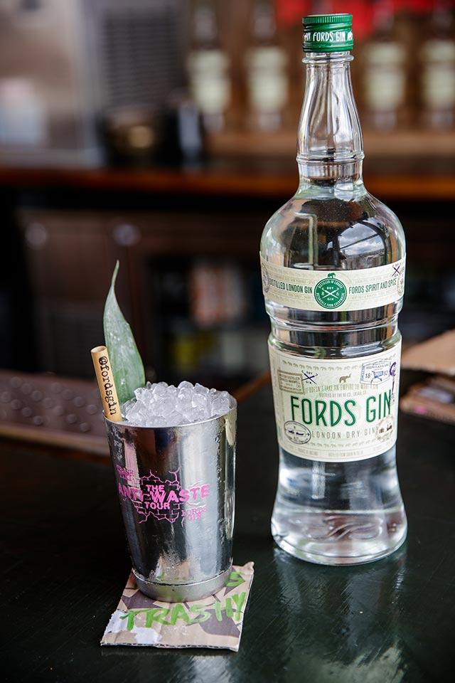 Anti-Waste Tour Ford's Gin and Trash Tiki