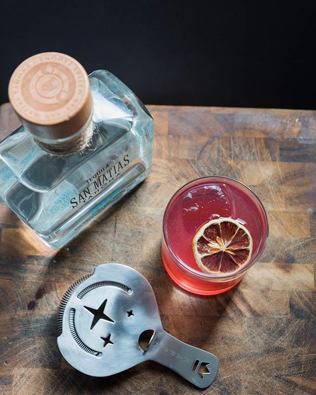 Chalapas Cocktail San Matias Tahona Tequila