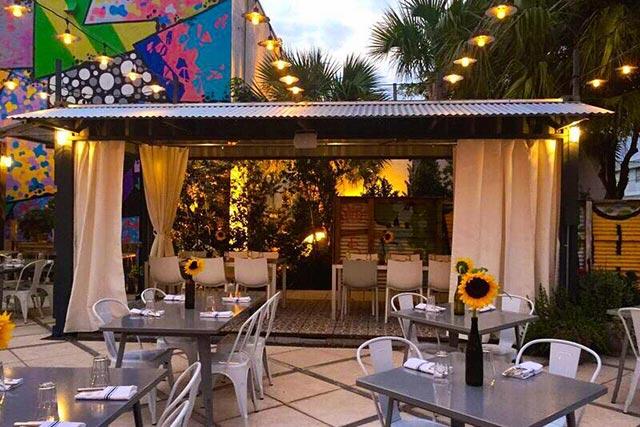 Charcoals Garden Bar Grill Outdoor Patio