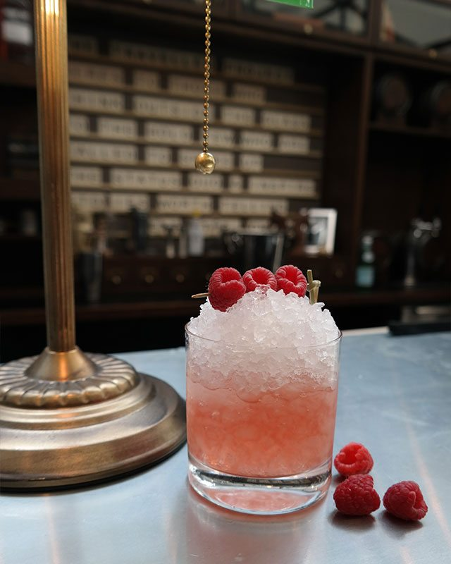 Gin Fix Cocktail at Traveller Bar Pop-up at Loews Miami Beach Hotel