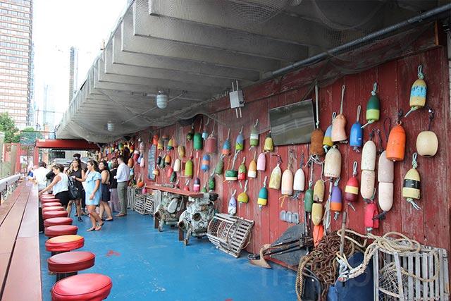 Happy Hour at Buoy Bar at North River Lobster Company