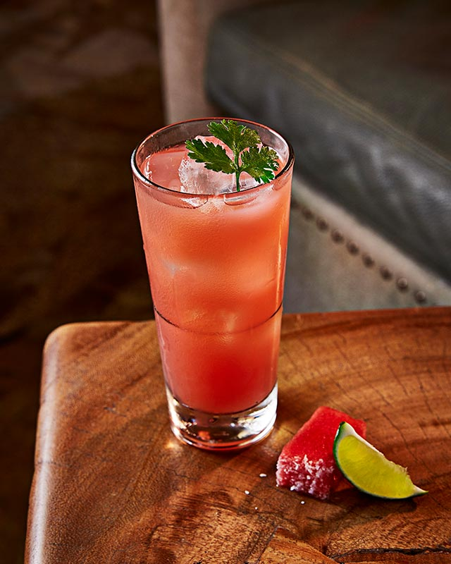 Watermelon Water with Rosemary