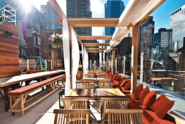 Haven Rooftop at Sanctuary Hotel Midtown