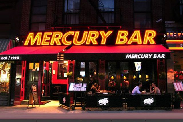 Mercury Bar NYC Detroit Lions Bar NYC