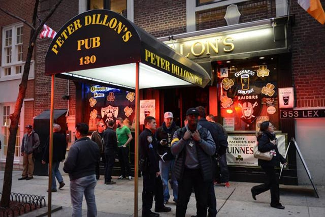 Peter Dillon's Oakland Raiders New York City Team Bar