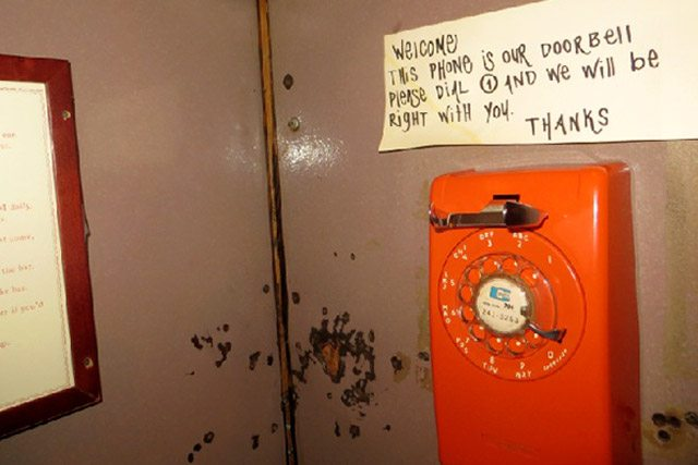 Phone Booth at Please Don't Tell (PDT) East Village