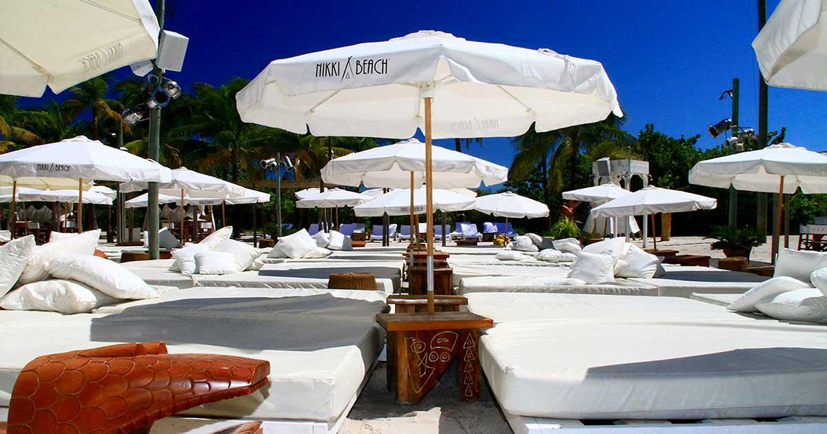 Nikki Beach Miami Daybed