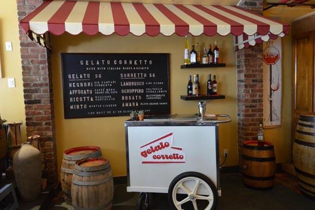Boozy Gelato and Sorbetto at Sottosuolo