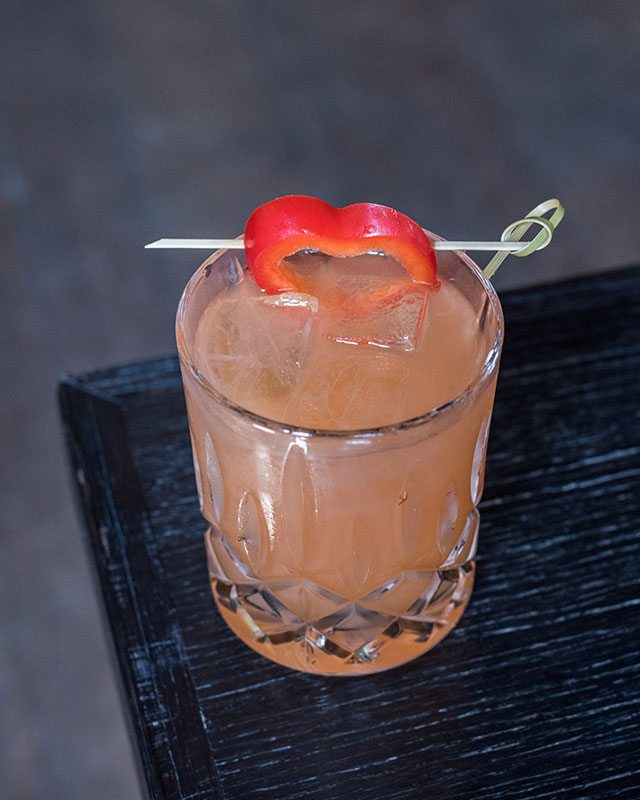The Farmer's Daughter Cocktail at Black Barn Restaurant NoMad