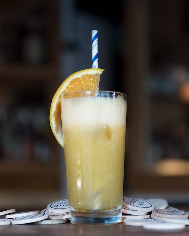 The Fluffy Screwdriver at Coup Astor Place