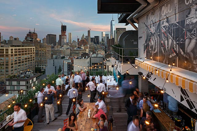 Azul at Hotel Hugo - Where to Drink NYFW