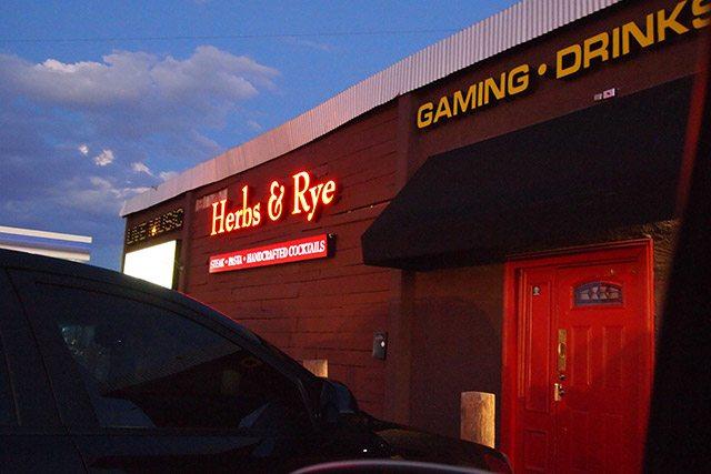 Herbs and Rye Las Vegas