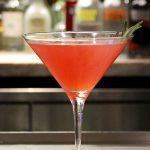 Honey-Kissed Cosmopolitan at New York Hilton Midtown