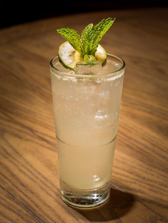 Cucumber Mint Collins at Jezebel Bar & Kitchen Miami