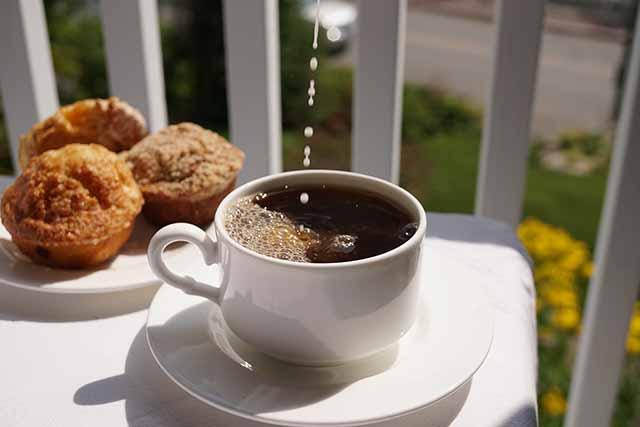 Mirror Lake Inn coffee