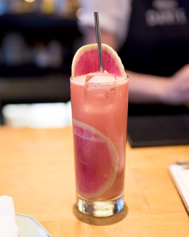 The Summer17 Cocktail at Dante at Genuine