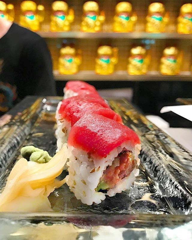 Sushi at Sushi Roxx Midtown East