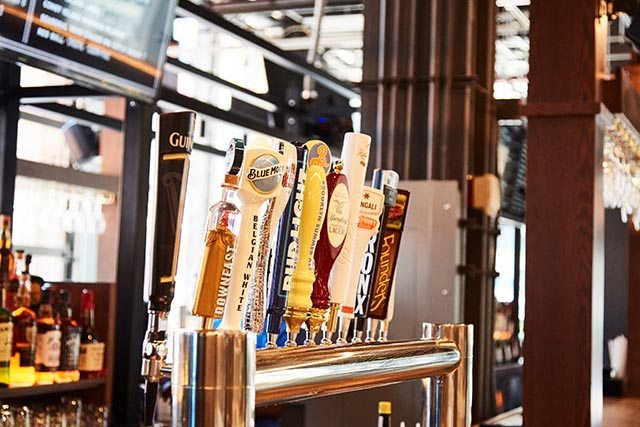 Beer Taps at Pennsy