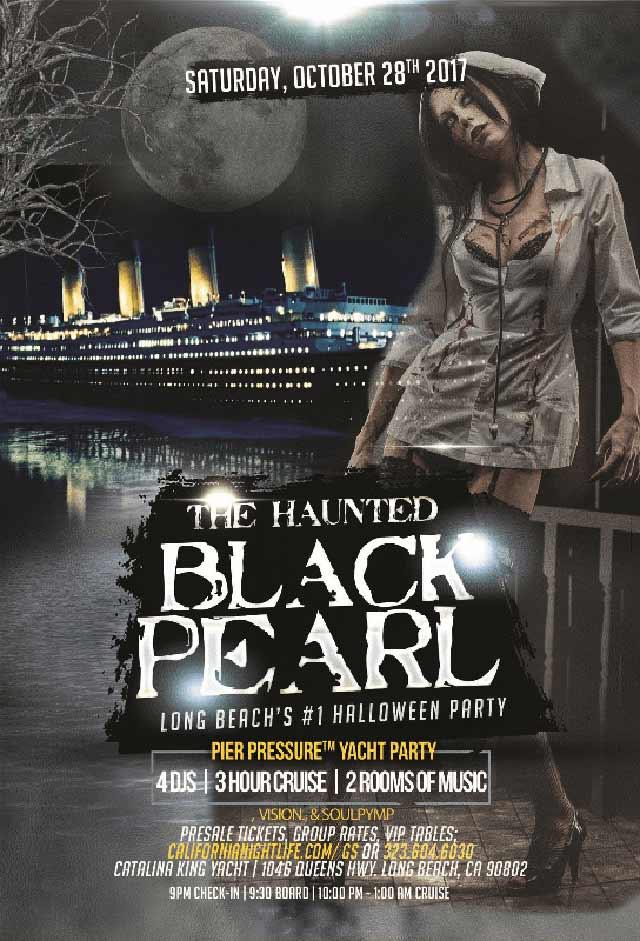Blackpearl Halloween Party Los Angeles