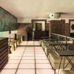 Hudson Hotel lounge