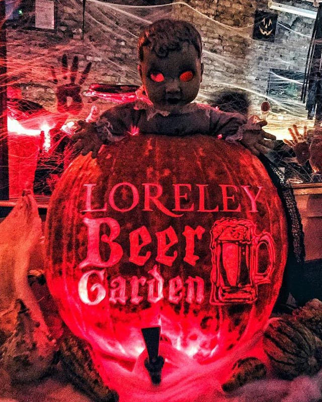 Spooktacular Haunted Beer Garden Halloween Party at Loreley Restaurant & Biergarten