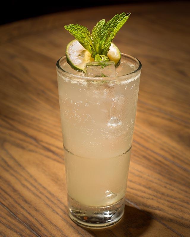 Cucumber Mint Collins at Jezebel Bar Miami