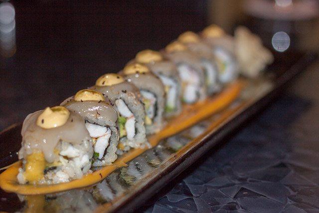 Sushi Roll at Sen Sakana