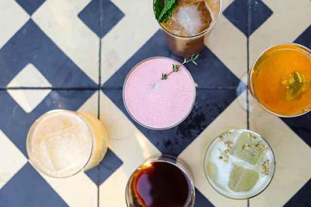 Esters cocktails